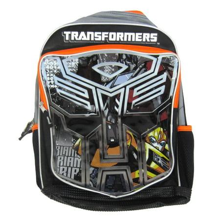 Backpack - - Bumblebee Optimus Prime Boys New 084251