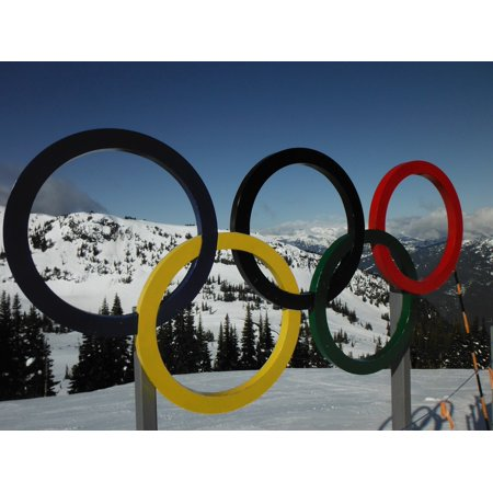 Laminated Poster Whistler Olympic Rings Poster Print 11 x 17](Olympic Rings Decorations)