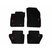 Ford Genuine OEM All Weather Rubber Floor Mat Set - For Fiesta ST 2014-2019