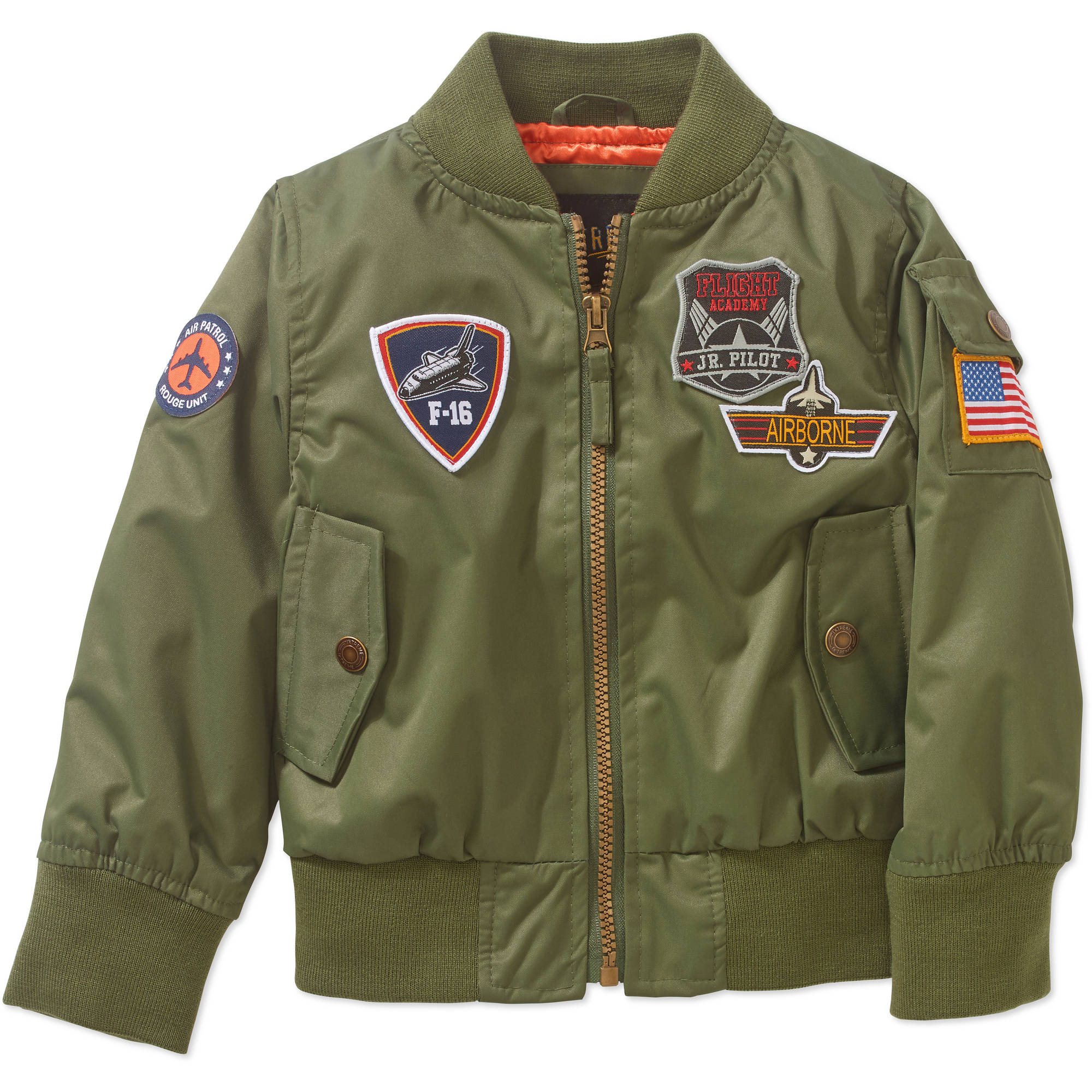 iXtreme Toddler Boys' Bomber Flight Jacket - Walmart.com