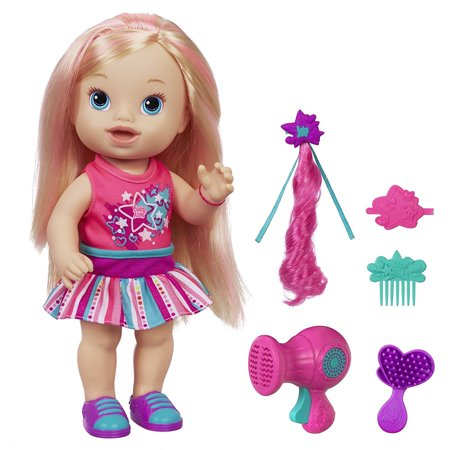Ba Alive Play N Style Christina Doll  Blonde   Play N Style Christina Doll Has Long  Lovely Hair By Baby Alive