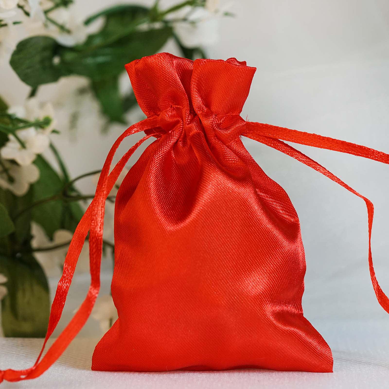 Metallic Rainbow Tree Wedding Party Rainbow Organza Sheer Drawstring Jewelry Gift Pouch Treat Bag Christmas Birthday Favor Gift Bag