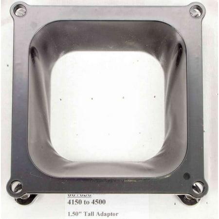 WILSON Manifolds 1-1/2 in 4500/Square Bore Carburetor Adapter P/N 7030