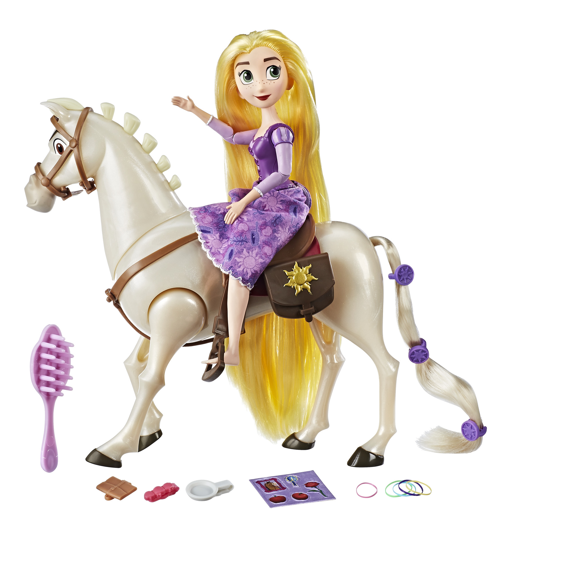 0fe75ade67 Disney Tangled the Series Rapunzel and Royal Horse Maximus - Walmart.com