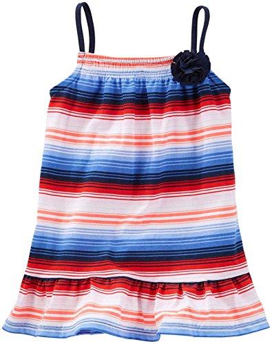 OshKosh B'gosh Little Girls' Knit Tunic 21292811, Stripe, 4T