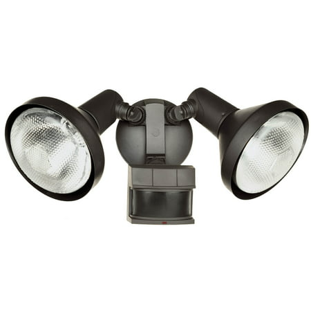 Heathco HZ-5318-BZ 120 Watt Bronze DualBrite® 2-Level Motion Flood Light