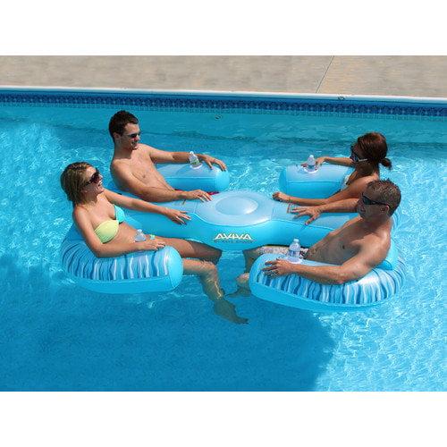 Rave Sports Paradise Lounge 4 Person Pool/Lake Lounge