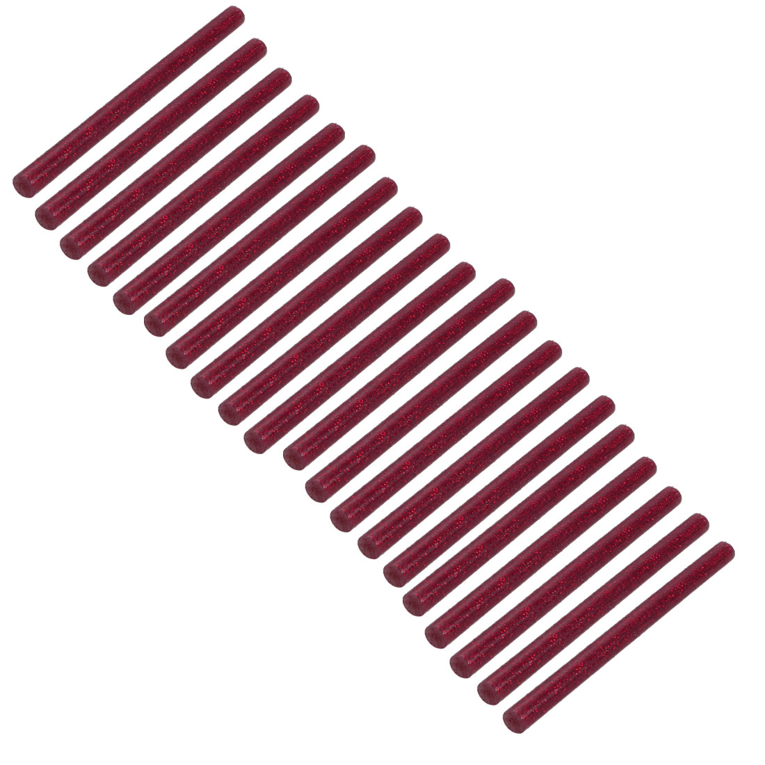 20pcs 7mm Dia 100mm Long Hot Melt Glue Adhesive Stick Shinning Red - image 3 de 3