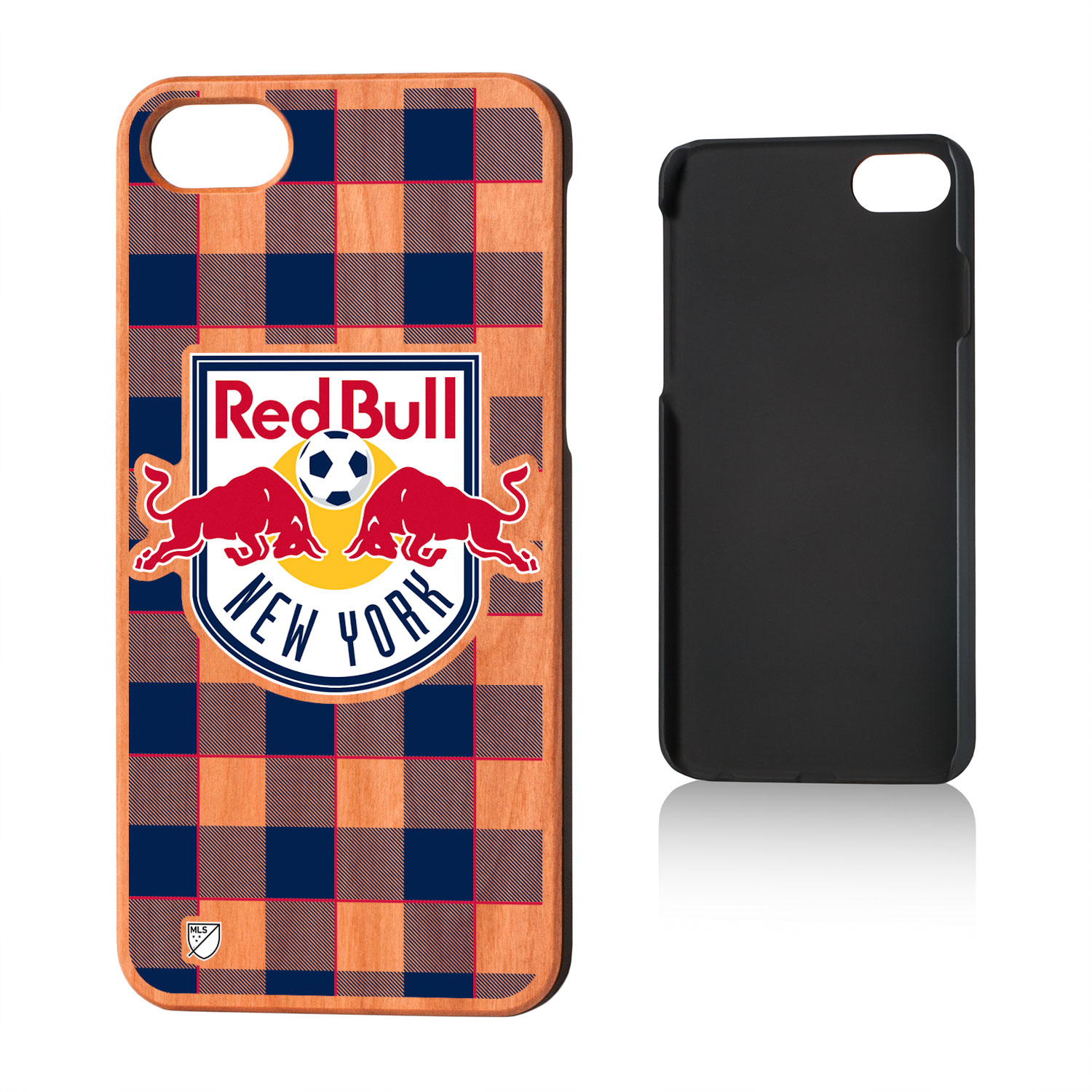 New York Red Bulls RED BULLS Plaid Cherry Case for iPhone 8 / 7