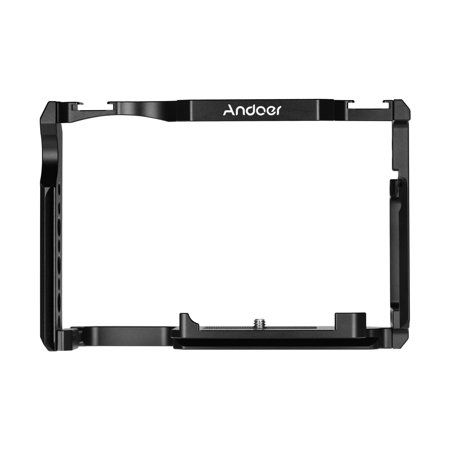 Andoer Camera Cage Aluminum Alloy with 1/4 Inch & 3/8 Inch