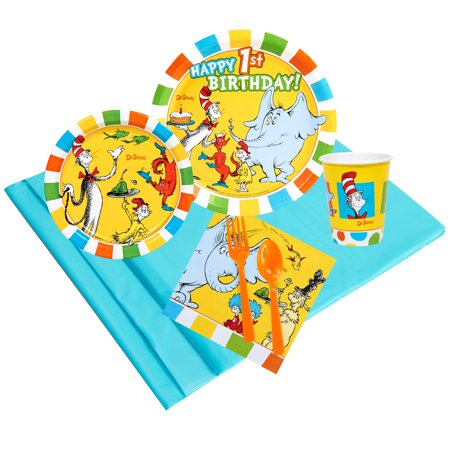 Dr Seuss 1st Birthday Party Supplies Party Pack 24](Dr Seuss Birthday Supplies)