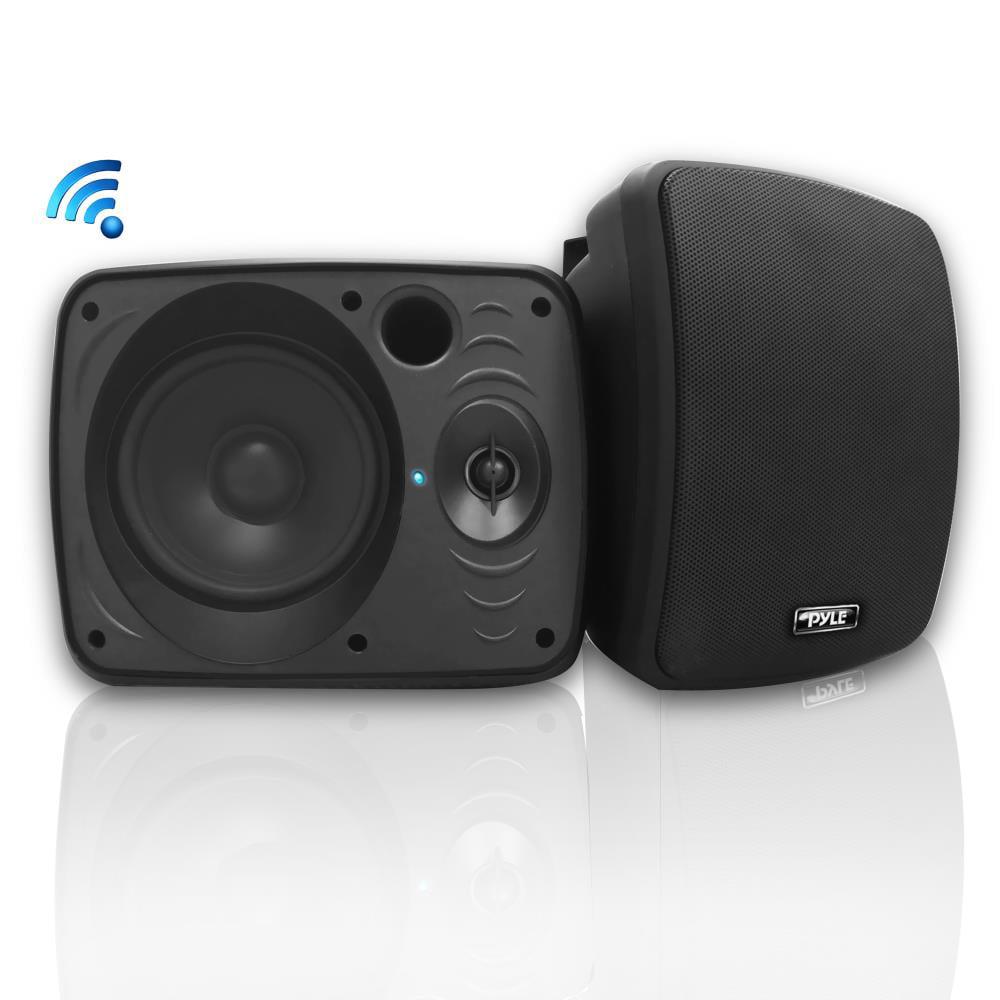 PYLE PDWR54BTB - Waterproof & Bluetooth 5.25'' Indoor / Outdoor Speaker System, 600 Watt, Black