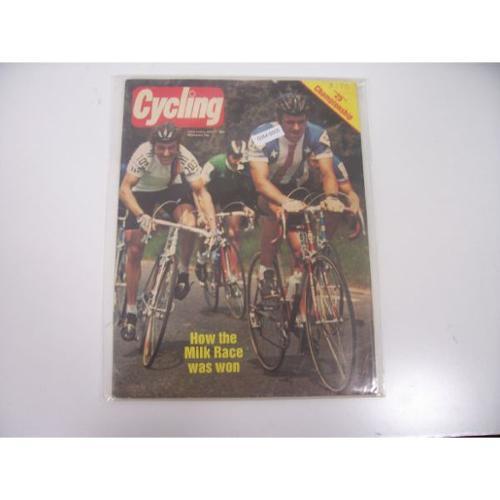Cycling Magazine June 11 1983 Vintage Magazine