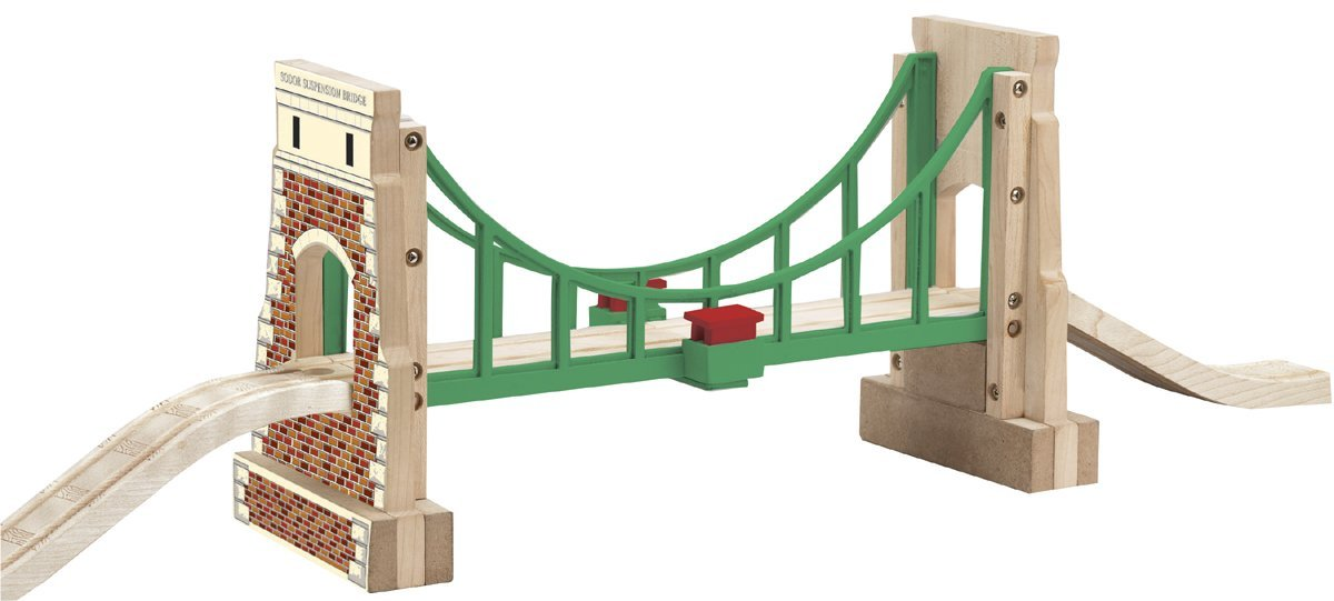 Thomas And Friends Wooden Railway Collapsing Sodor Suspension Bridge by