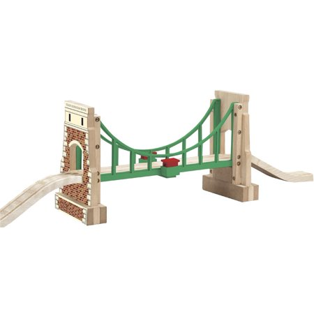 - Thomas And Friends Wooden Railway - Collapsing Sodor Suspension Bridge