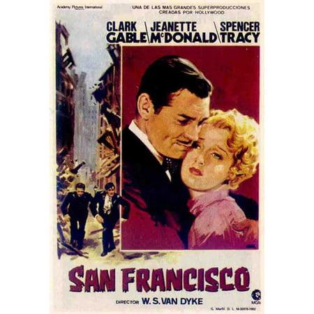 San Francisco POSTER Movie Mini Promo