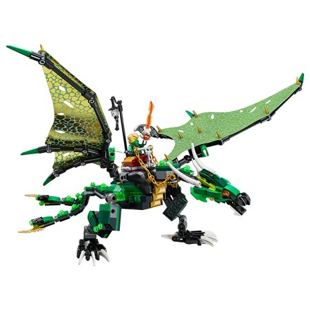 lego ninjago the green nrg dragon 70593 walmartcom