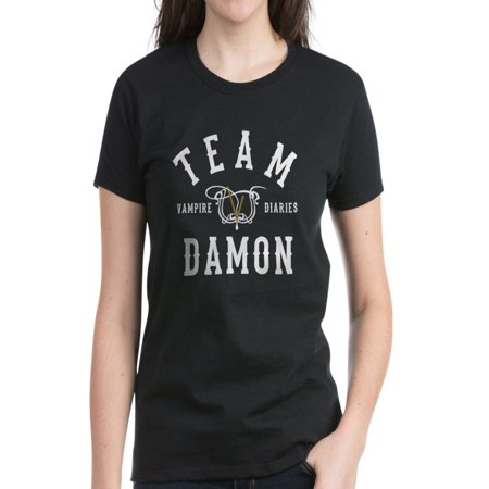 CafePress - Team Damon Vampire Diaries T-Shirt - Women's Dark - Vampire Clothing For Women
