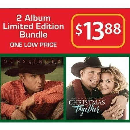 Garth Brooks 2 Album Limited Edition Bundle Gunslinger/Christmas Together (2CD) (Walmart Exclusive)