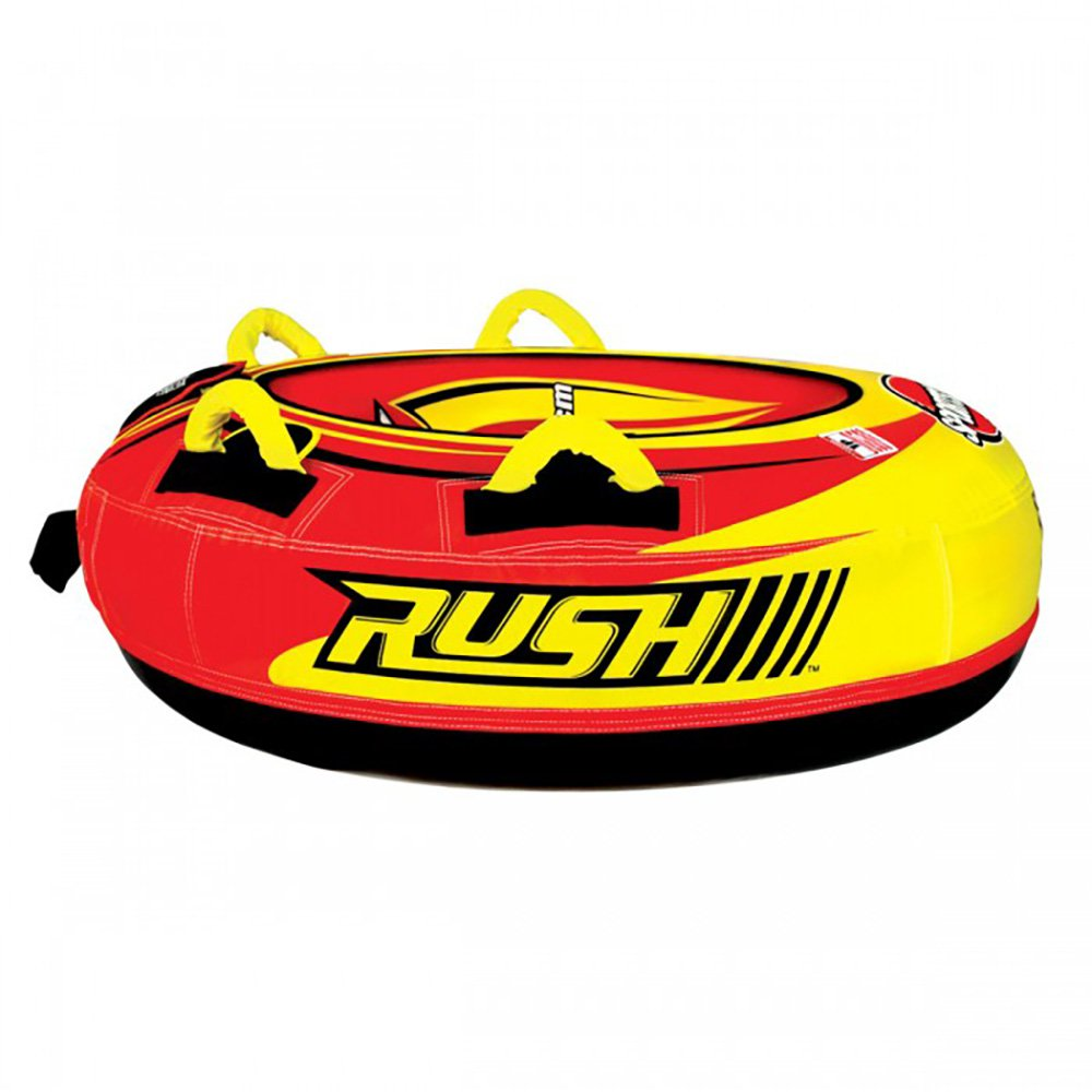 Sportsstuff Rush Inflatable 40-Inch Snow Tube with 4 Foam Handles | 30-3541