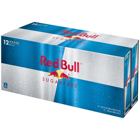 Red Bull  Sugarfree Energy Drink 12 8 4 Fl  Oz  Cans
