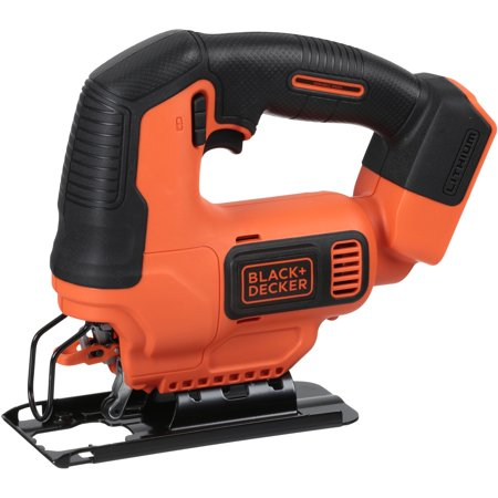 BLACK+DECKER 20V Max Cordless Lithium-Ion Jigsaw (Bare Tool),