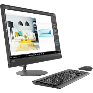 "Lenovo IdeaCentre 520-24ICB - 23.8"" - Intel Core i5 (8th Gen) i5-8400T 1.7GHz - 8GB DDR4 SDRAM - 2TB HDD - 16GB SSD - Windows 10 Home - Intel UHD Graphics 630 - All-in-One Computer"