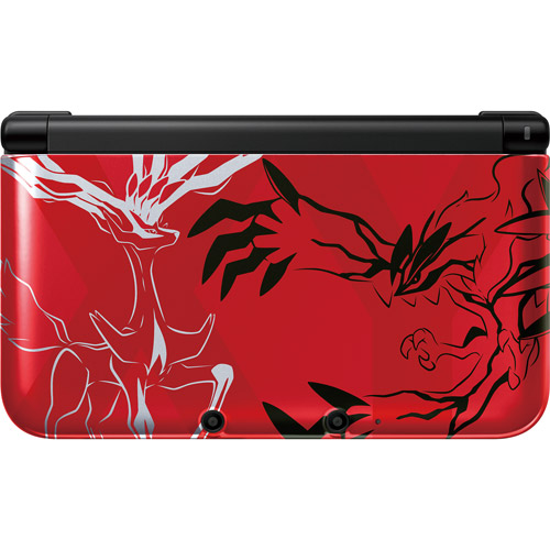 Nintendo 3DS XL Pokemon X & Y Red Edition Handheld