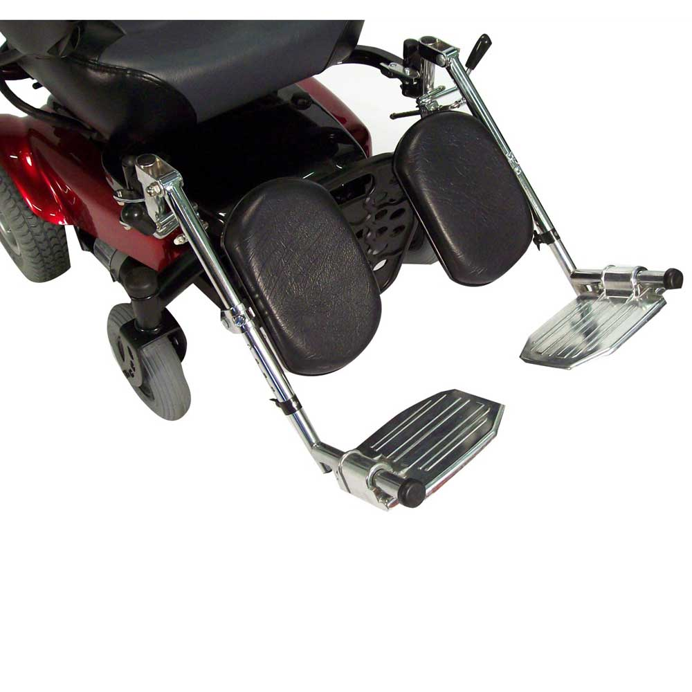 Drive Medical Power Wheelchair Elevating Legrest Bracket with Hemi Spacing