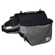 Doggles Dog Backpack, XS, Gray/Black