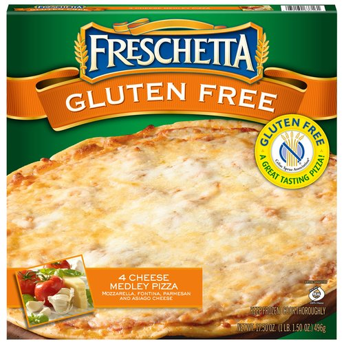 Freschetta Gluten Free 4 Cheese Medley Pizza, 17.5 oz