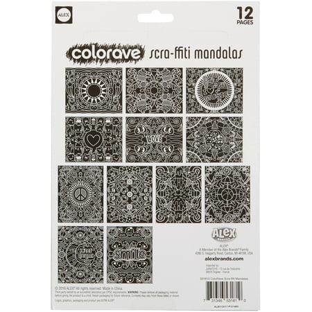 Colorave Scraffiti Mandala](Mandala Crafts)