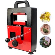 INTBUYING Manual Rosin Press Machine Hydraulic Heating Oil Rosin Press Extracting Tool Upper And Lower Plate