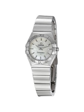Omega Constellation Mother of Pearl Ladies Watch 12310246005002
