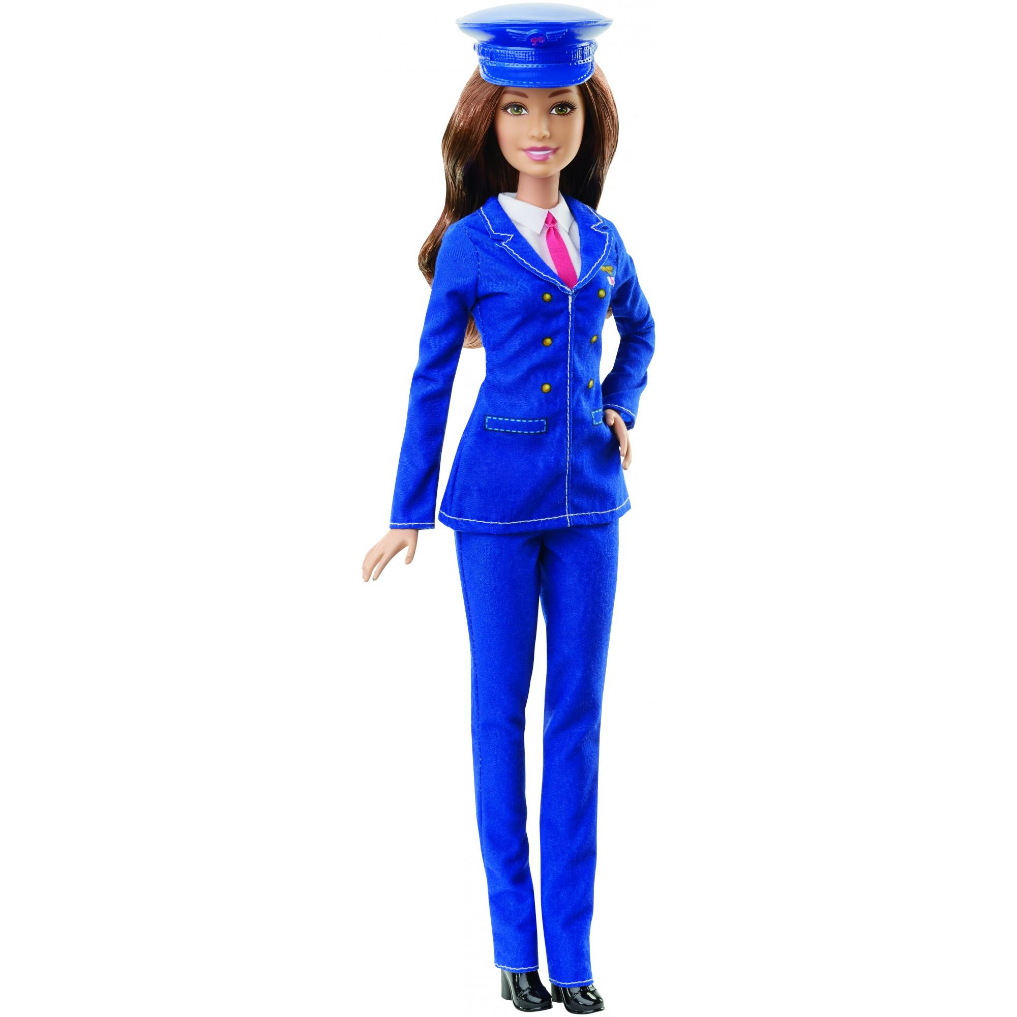 Barbie Career Blue Pilot Fashion Doll