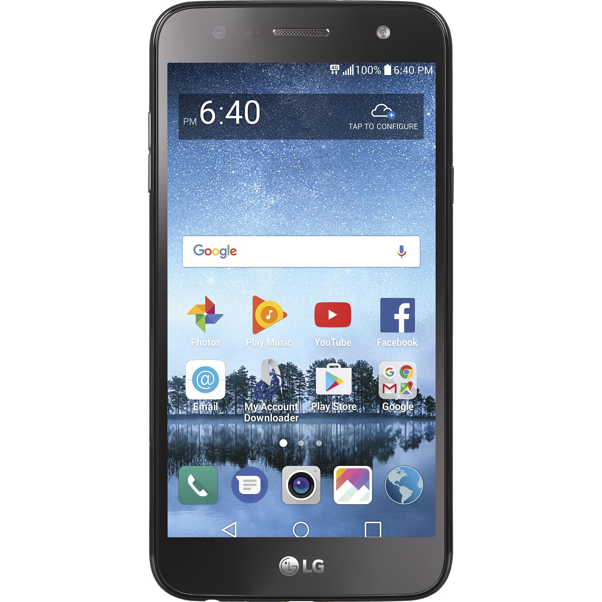 Refurbished LG STLGL164VCP Straight Talk Fiesta 2 Prepaid Smartphone