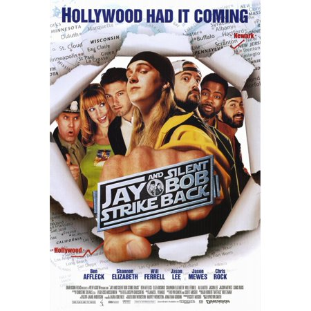 Jay and Silent Bob Strike Back (2001) 11x17 Movie