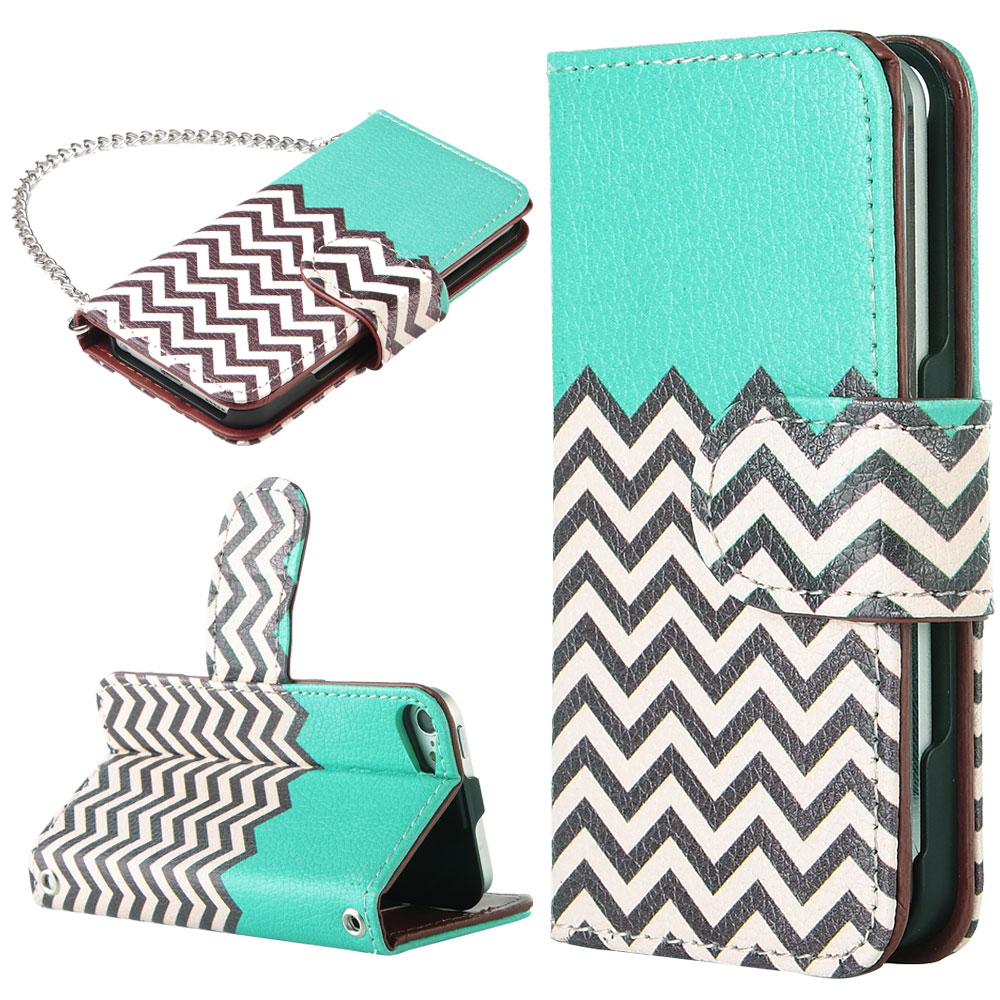 size 40 0810e a591c ULAK iPod touch 6 6G 6th 5 5G 5th Wallet Leather Case w/ Card Holder Stand  with Flip Case Design for Apple iPod touch 5 6 (4