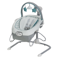 Graco Duet Sway LX Baby Swing with Portable Bouncer, Merrick