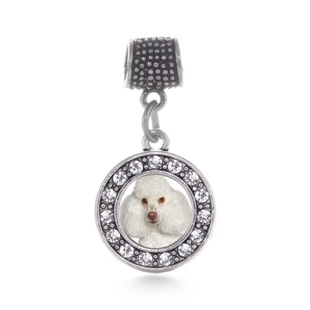 - I Love My Poodle Circle Memory Charm
