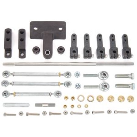 JEGS 15775 Tunnel Ram Linkage Kit
