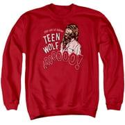 Teen Wolf Animal Mens Crewneck Sweatshirt