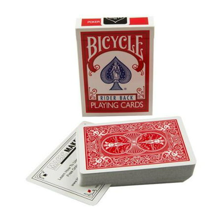Pro Brand Bridge Size Svengali Deck - Easy Magic Card Tricks - Red or - Easy Halloween Magic Tricks