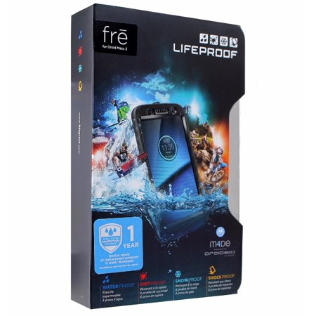 sports shoes da007 0d130 LifeProof FRE Series Waterproof Case Cover for Motorola Droid Maxx 2 - Black