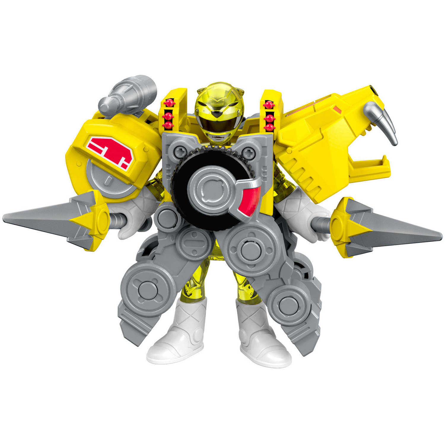 IMaginext Power Rangers Battle Armor Yellow Ranger by Fisher-Price