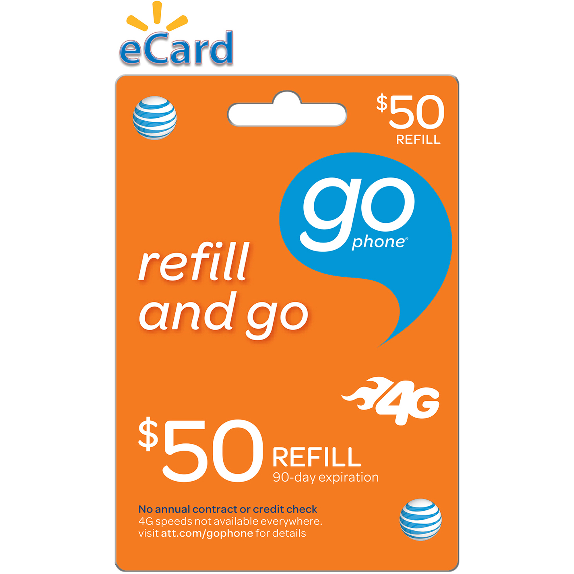 (Email Delivery) AT&T $50 Refill