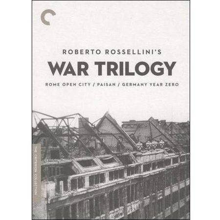 Roberto Rossellinis War Trilogy  Criterion Collection