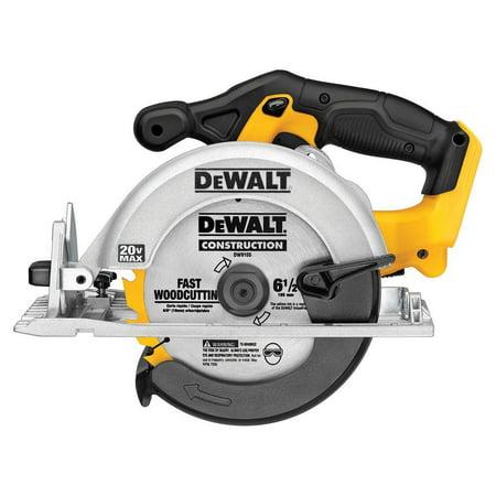 Dewalt DCS393 20v Max 6-1/2 Circular Saw (Certified Refurbished) (Dewalt Table Circular Saw)