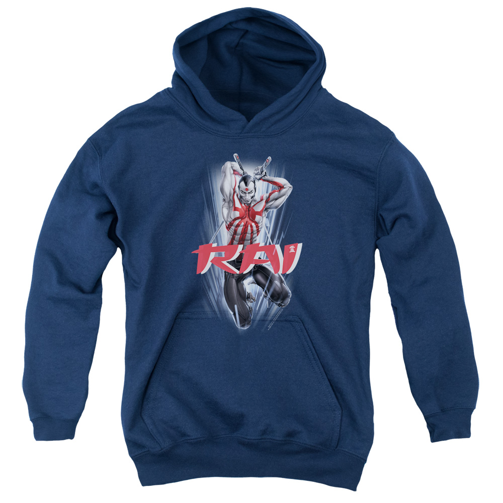 Rai Leap And Slice Big Boys Pullover Hoodie