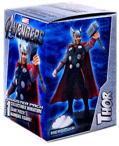 - Marvel HeroClix Avengers Booster Pack [Thor Marquee Figure]